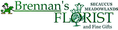 Brennnan's Secaucus Meadowlands Florist and Fine Gifts, your flower shop delivering to Secaucus and Meadowlands, New Jersey