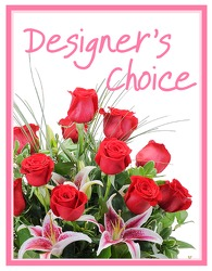 Designers Choice - Valentine's Day from Brennan's Secaucus Meadowlands Florist