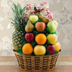 Simply Fruit Basket from Brennan's Secaucus Meadowlands Florist