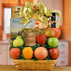 Delicious Sugar Free & Fresh Fruit Gift Basket from Brennan's Secaucus Meadowlands Florist