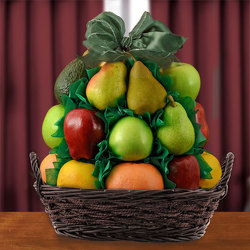 Fancy Fruit Basket from Brennan's Secaucus Meadowlands Florist
