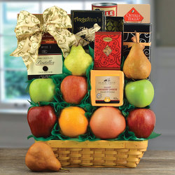 Orchard Fruit Basket from Brennan's Secaucus Meadowlands Florist