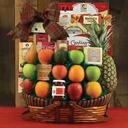 Sutton Place Fruit Basket from Brennan's Secaucus Meadowlands Florist