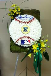 FERRIS HIGH SCHOOL BASEBALL CUSTOM DESIGN from Brennan's Secaucus Meadowlands Florist