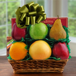 Garden Grove Fruit Basket from Brennan's Secaucus Meadowlands Florist