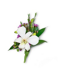 Flawless Boutonniere from Brennan's Secaucus Meadowlands Florist