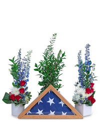 Freedom Tribute from Brennan's Secaucus Meadowlands Florist