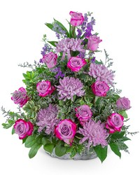 Gracefully Majestic Basket from Brennan's Secaucus Meadowlands Florist