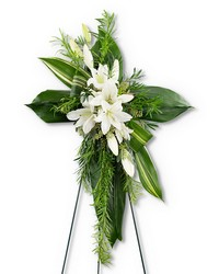 Cross of Comfort from Brennan's Secaucus Meadowlands Florist