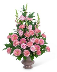 Forever Adored Urn from Brennan's Secaucus Meadowlands Florist