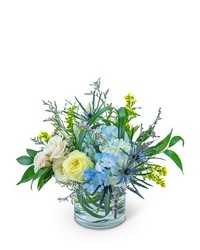 Wilde Blue from Brennan's Secaucus Meadowlands Florist