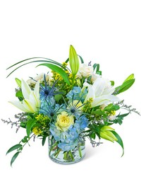 Luna Blue from Brennan's Secaucus Meadowlands Florist