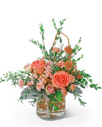 Peach Prosecco from Brennan's Secaucus Meadowlands Florist