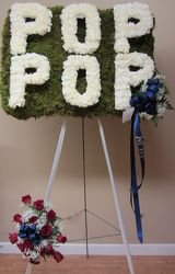Pop Pop Custom Design from Brennan's Secaucus Meadowlands Florist