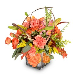 Leaf Your Worries Behind from Brennan's Secaucus Meadowlands Florist