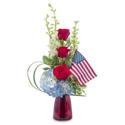 Patriot from Brennan's Secaucus Meadowlands Florist