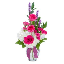 Popular Pink from Brennan's Secaucus Meadowlands Florist