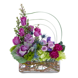Magenta Magic from Brennan's Secaucus Meadowlands Florist