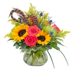 Sunrise Harvest Bounty from Brennan's Secaucus Meadowlands Florist
