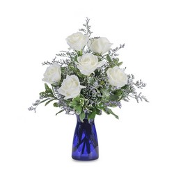 Roses in Blue from Brennan's Secaucus Meadowlands Florist