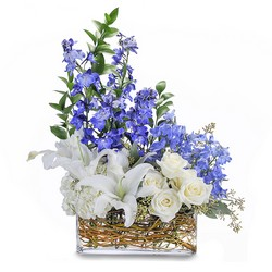 Majestic Blue from Brennan's Secaucus Meadowlands Florist