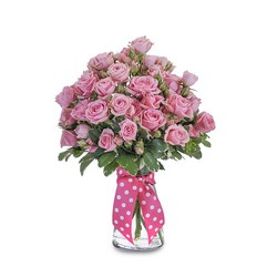 Pink Twinkledotted  from Brennan's Secaucus Meadowlands Florist