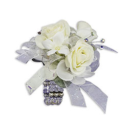 Simple Elegance Wrist Corsage from Brennan's Secaucus Meadowlands Florist