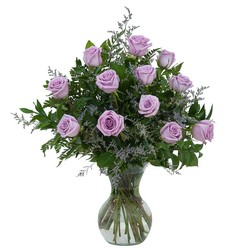 Lovely Lavender Roses from Brennan's Secaucus Meadowlands Florist