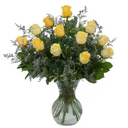 Yellow Rose Beauty from Brennan's Secaucus Meadowlands Florist