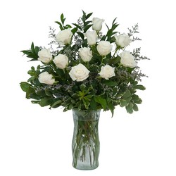 White Rose Elegance from Brennan's Secaucus Meadowlands Florist