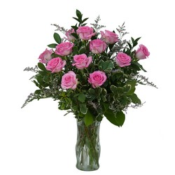 Pink Rose Perfection from Brennan's Secaucus Meadowlands Florist