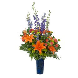 Chase away the Blues from Brennan's Secaucus Meadowlands Florist