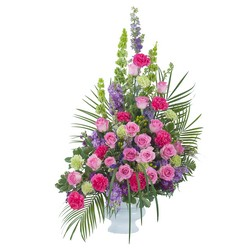 Forever Cherished Crescent Spray from Brennan's Secaucus Meadowlands Florist