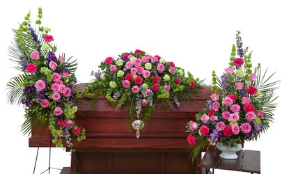 Forever Cherished Trio from Brennan's Secaucus Meadowlands Florist