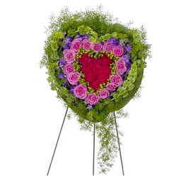 Forever Cherished Heart from Brennan's Secaucus Meadowlands Florist