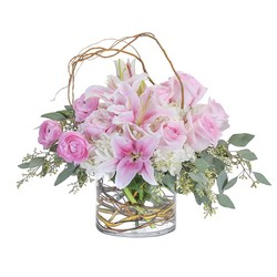 Peaceful Pink from Brennan's Secaucus Meadowlands Florist