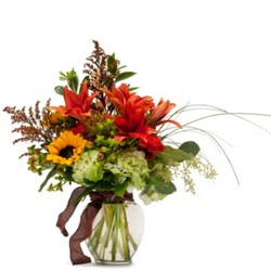 Autumn Breeze from Brennan's Secaucus Meadowlands Florist