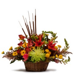 Abundant Basket from Brennan's Secaucus Meadowlands Florist