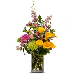 Cheerful from Brennan's Secaucus Meadowlands Florist