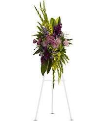 The Endless Sky Spray from Brennan's Secaucus Meadowlands Florist
