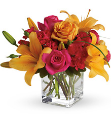 Teleflora's Uniquely Chic from Brennan's Secaucus Meadowlands Florist