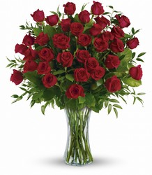 Breathtaking Beauty - Three Dozen Red Roses from Brennan's Secaucus Meadowlands Florist